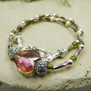 Glass Beaded Ankle Bracelet